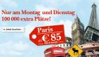 Nur am Montag und Dienstag: 100.000 extra Plätze! z.B.: um 98€ nach Barcelona @Austrian.com
