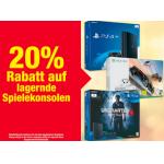 Metro – 20 % Rabatt auf lagernde Spielkonsolen bis 26. Juli 2017