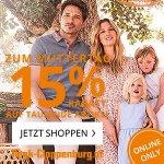 Peek&Cloppenburg Muttertagsaktion – 15% Rabatt auf tausende Artikel