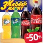 Coca-Cola Limonaden 2,25L um 0,89 € / 0,33L um 0,25 € (Grenze CZ/Ö)
