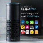 Amazon Echo (refurbished) inkl. Versand um 79,99 € statt 179,99 €