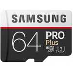 Samsung microSDXC PRO Plus (2017) 64GB Kit um 34,96 € statt 56,39 €