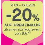 Bipa: 20 % Rabatt auf fast ALLES (ab 30 € Bestellwert)