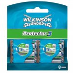 Wilkinson Sword Protector 3 Klingen (8 Stück) um 6,95 € statt 16,99 €