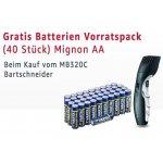 Remington MB320C Bartschneider-Set & 40 Stück Varta Batterien Mignon AA LR6 inkl. Versand um 26,21 € statt 43,78 €