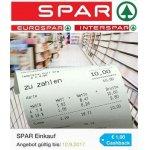 1 € Cashback ab 10 € Einkauf bei Spar / Interspar /Eurospar [Marktguru]