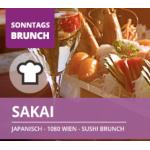 Sakai – Sonntags Sushi Brunch um 24,50 € bis 1. Oktober 2017