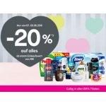 BIPA Filialen – 20 % Rabatt auf fast alles ab 30 € Einkauf (bis 09.06.)