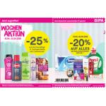 BIPA – 20 % Rabatt auf fast alles ab 30 € Einkauf (Bis 02.05.)