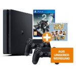PS4 Slim 1TB + 2x Controller + Destiny 2 + That's You um 299 € statt 390 €