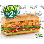 Subway – Chicken Fajita Sub (15cm) um nur 2 € statt 3,99 €