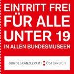 Bundesmuseen – GRATIS Eintritt bis zum 19. Lebensjahr