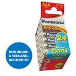 24x Panasonic AAA Pro Power Batterien um 8 € statt 10,89 €