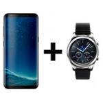 Samsung Galaxy S8 / S8+ inkl. Gear S3 Classic ab nur 684 € statt  885 €