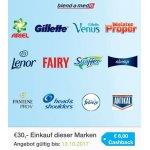 Marktguru – 8 € Cashback beim Einkauf von Markenprodukten um 30 €