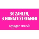 Amazon Music Unlimited Familie – 3 Monate zum Preis von 3 €