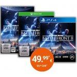 Star Wars Battlefront II (PS4 / Xbox One / PC) um 49,99 € vorbestellen