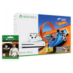 Xbox One S 500GB + FIFA 18 Ronaldo Edition + Forza Horizon 3 um 250 €