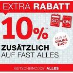 XXXLutz.at – 10% Rabatt auf alles inkl. Werbung / Sale (bis 1. Oktober)