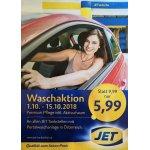 Jet Tankstelle Autowäsche – Premium Pflege inkl. Aktivschaum um 5,99 €