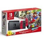 Nintendo Switch Konsole Rot + Mario Odyssey um 349 € statt 388,99 €