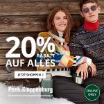 Peek&Cloppenburg – 15 % Rabatt auf ALLES + gratis Versand
