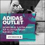 Adidas Onlineshop – 25% Extra-Rabatt & gratis Versand im Women Outlet