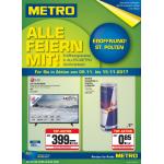 Metro St. Pölten Eröffnung – Aktionspreise in allen Metro Großmärkten!