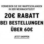 The Body Shop Onlineshop – 20 € Rabatt ab 60 € Bestellwert