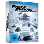 Fast & Furious – 8 Movie Collection [Blu-ray] um 29 € statt 44,99 €