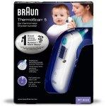 Braun ThermoScan 5 Infrarot Ohrthermometer um 31,13 € statt 39,31 €