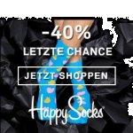 Happy Socks Cyber Monday: -40% auf fast ALLES & gratis Lieferung