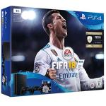 PlayStation 4 1TB + FIFA 18 + 2x Controller um 279 € statt 350,99 €