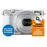 Nikon 1 J5 Systemkamera mit Objektiv VR 10-30mm um 318 € statt 425 €