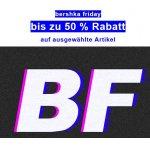Bershka Friday – bis zu 50 % Rabatt auf Damen und Herrenbekleidung