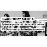 Shopping City Süd Black Friday – über 100 Angebote ab 24.11.2017