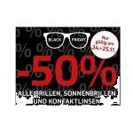 Pearle Black Friday – 50% Rabatt auf Brille, Sonnenbrille & Kontaktlinsen