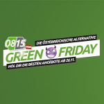 0815.at Green Friday Angebote bis zum 26. November 2018