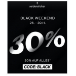 Seidensticker Black Weekend – 30 % Rabatt auf ALLES (inkl. Sale)