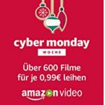 Amazon Video – über 600 Filme (inkl. neue Blockbuster) um je nur 0,99 €