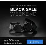 Gaxs Uhren aus Schweden – 50% Rabatt