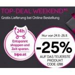BIPA Black Friday – 25% Rabatt aufs teuerste Produkt & gratis Versand