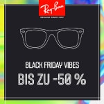 Ray Ban Black Friday – Sonnenbrillen mit bis zu 50% Rabatt!