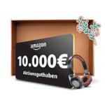 Amazon Music streamen und 10.000 € Aktionsguthaben gewinnen!