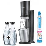 Sodastream Crystal 2.0 + 2 Glaskaraffen um 77 € statt 109,88 €