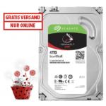 Seagate IronWolf 4 TB Interne Festplatte um 99 € statt 116 € – Bestpreis!