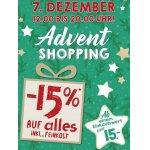 Merkur Advent-Shopping – 15 % Rabatt auf euren Einkauf am 07.12.