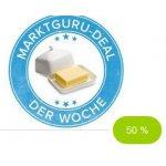 50 % Rabatt auf eine Packung Butter (Marktguru)