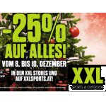 TOP! XXL Sports & Outdoor – 25 % Rabatt auf fast ALLES (bis 10.12.)