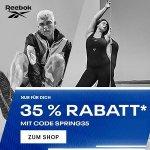 Reebok.at – bis zu 50% Rabatt im Outlet + 20% Extra-Rabatt